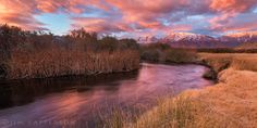 Owens River Valley sunrise - By Jim Patterson