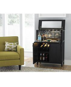 Liona Bar - Home Bar - furniture - Macy's