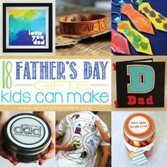 18 Fathers Day Gifts Kids Can Make