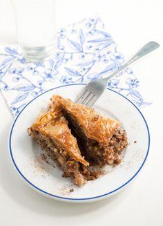Baklava recipe by Grecian Paradise #recipe #baklava