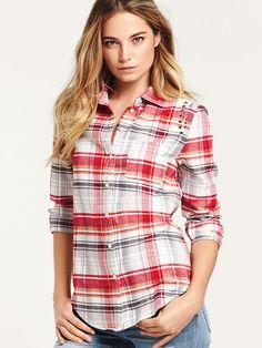 Studden Flannel Shirt - Victoria's Secret small
