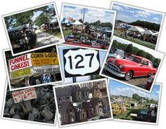 127 Yard Sale - The World's Longest Yard Sale.  - August 7-10, 2014