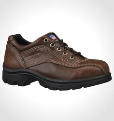 Made in the USA:  Women's Double Track Oxford Safety Toe @ All American Clothing Co.