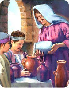 Elisha and widow oil