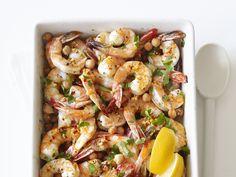 Garlic Shrimp and Chickpeas Recipe : Food Network Kitchen : Food Network - FoodNetwork.com