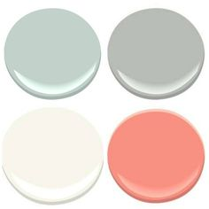 THE PAINT COLORS OF MY OLD COUNTRY HOUSE - My Old Country House MASTER BATHROOM- PALLADIAN BLUE, COVENTRY GRAY, CORAL GABLES, MOUNTAIN PEAK WHIT