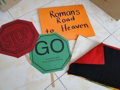 Raising 4 Princesses: Romans Road Sunday School Lessons