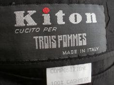 Amazing cashmere blazer from Kiton Napoli by Dressyouwant on Etsy, €200.00