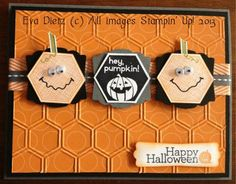 Crazy Pumpkins by Mama D - Cards and Paper Crafts at Splitcoaststampers