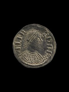 Silver Anglo Saxon coin from Vale of York Viking Hoard