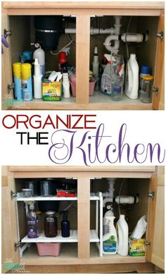 Organizing the Kitchen with Ace Blogger, @turquoisehome