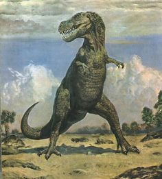 Tarbosaurus, Zdeněk Burian