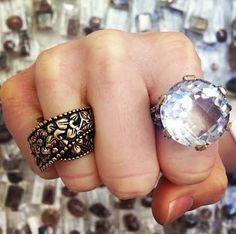 Monday, nothing the right Stephen Dweck jewelry can't fix! #rings   http://instagram.com/stephendweckjewelry