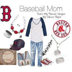 """Baseball Mom"" by delinn-premierdesigns on Polyvore"