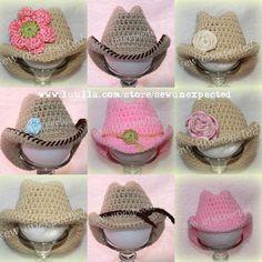 - baby cowboy hats