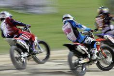 Flat track racing at Daytona International Speedway, 2012.  SunnyRyder Photography