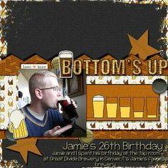 bottoms up marisa lerin boozy: beer DIY