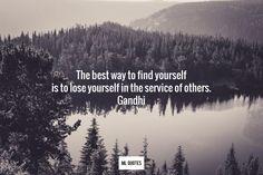 Mohandas Gandhi Picture Quote