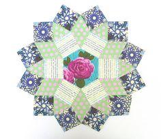 prep, block idea, verykerryberri, english paper piecing, quilt block