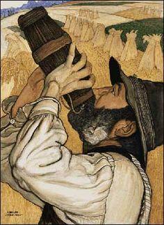 Ernest Bieler, Swiss Painter, Painting Unnamed.