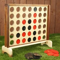 Oversized Connect Four... possible diy idea (?)