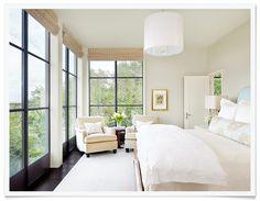 headboard, windows, bed linens, etc.