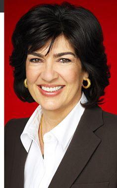 Christiane Amanpour (CNN news anchor)