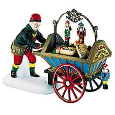 Nutcracker Vendor & Cart 1996 - 2002