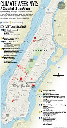Climate Week, NYC, Sept 2014 - A snapshot of the action