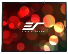 Elite Screens DIY141RH DIY Indoor/Outdoor Projection Screen (141-Inch 16:9 AR)(Rear) by Elite. $180.70. The Elite Screens DIY Rear series screen is a versatile projection screen that can be mounted in nearly any surrounding. The DIY Rear screen uses a 2.2 gain rear projection material that only requires something to tie the screen onto, making it perfect for barbeques, pool parties or family movie nights in the backyard.