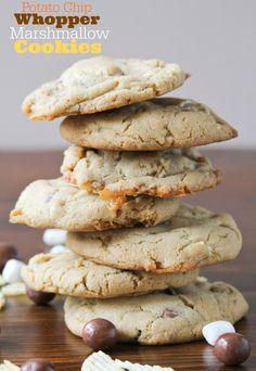 Whopper, Potato Chip, Marshmallow Cookies