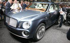 Bentley EXP 9F Slated for Dakar Rally