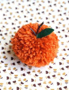 pompom, pom pumpkin, pom pom