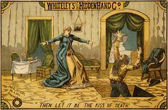1884 ad: Whiteley's Original Hidden Hand Co.