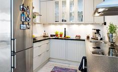 how to decorate a small kitchen | How to Organize Small Apartment Kitchen on a Budget - Decorating Ideas