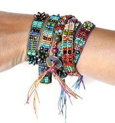 The Mirrix Crystal Wrap Bracelet