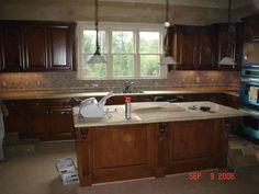 Kitchen Tile Backsplashes | big kitchen pictures 3d stone backsplash 3d stone backsplash