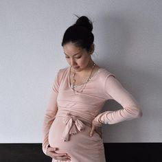 Wrap Around Maternity Top Tutorial