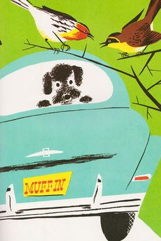 """From """"The Summer Noisy Book"""" written by Margaret Wise Brown, illustrated by Leonard Weisgard (1951)."""