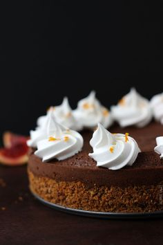 Chocolate on Pinterest   Chocolate Fudge Cake, Chocolate Mousse Cake ...