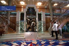 Disney Cruise Line Magic Lobby #Travel #Cruise #Disney #Magic
