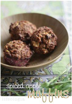 spiced apple muffins : gluten-free & vegan