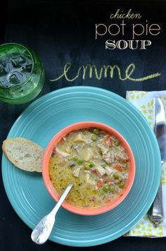 chicken pot pies, food, pie soup, carrots, cooking tips, broths, biscuits, soup recipes, big pot