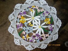 Ravelry: Flower Bouquet pattern by American Thread Company