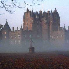 14th-century Glamis Castle, Angus, Scotland