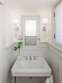 Board and Batten bathroom sink