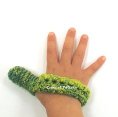 Thumb Sucking Helper Thumb Cozy Crochet Pattern PDF INSTANT DOWNLOAD