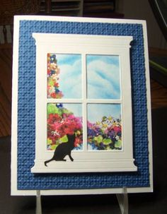 window carddoor, carddoor card