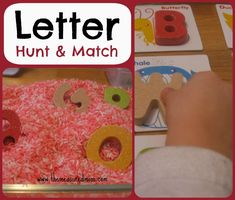 Teach the alphabet to toddlers and preschoolers with this fun sensory activity!