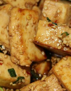 Sesame Ginger Tofu Recipe